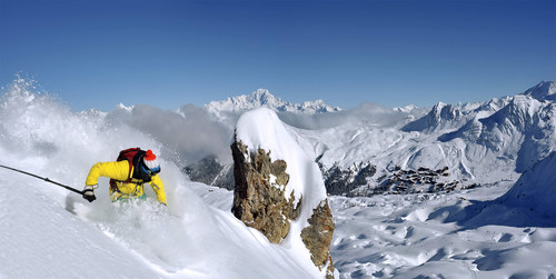 La Plagne - France / Freeride. Credit Photo : Philippe Royer. (PRNewsFoto/TravelTrex GmbH) ...