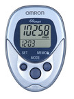 Step up your fitness in 2011 with the Omron(R) HJ-112 Pocket Pedometer. Track your steps, time, distance, calories and fat grams burned while conveniently keeping the HJ-112 on your hip, in your pocket or in your bag. For more information, visit www.omronhealthcare.com.  (PRNewsFoto/Omron Healthcare, Inc.)