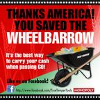 You saved the wheelbarrow! Like True Temper on Facebook at http://www.facebook.com/TrueTemperTools.(PRNewsFoto/Ames True Temper)