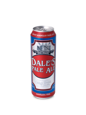 "Oskar Blues Brewery of Longmont, Colo., introduces the first beer packaged in Ball Corporation's new ""Royal Pint"" (568-mL) can.  (PRNewsFoto/Ball Corporation)"