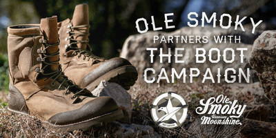Ole Smoky Tennessee Moonshine partners with Boot Campaign. Boots on!
