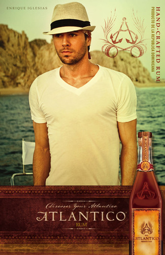 Enrique Iglesias Announces Partnership with ATLANTICO Rum