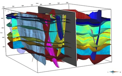 Use SKUA-GOCAD to build accurate reservoir models in the presence of complex geology