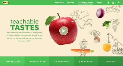 Mott's New Teachable Tastes Website