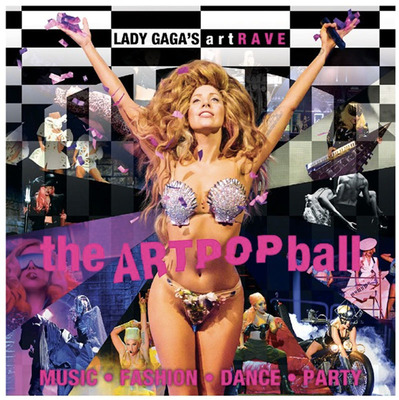 Lady Gaga's artRave: The ARTPOP Ball Announces European Leg for Fall 2014.  (PRNewsFoto/Live Nation Entertainment)