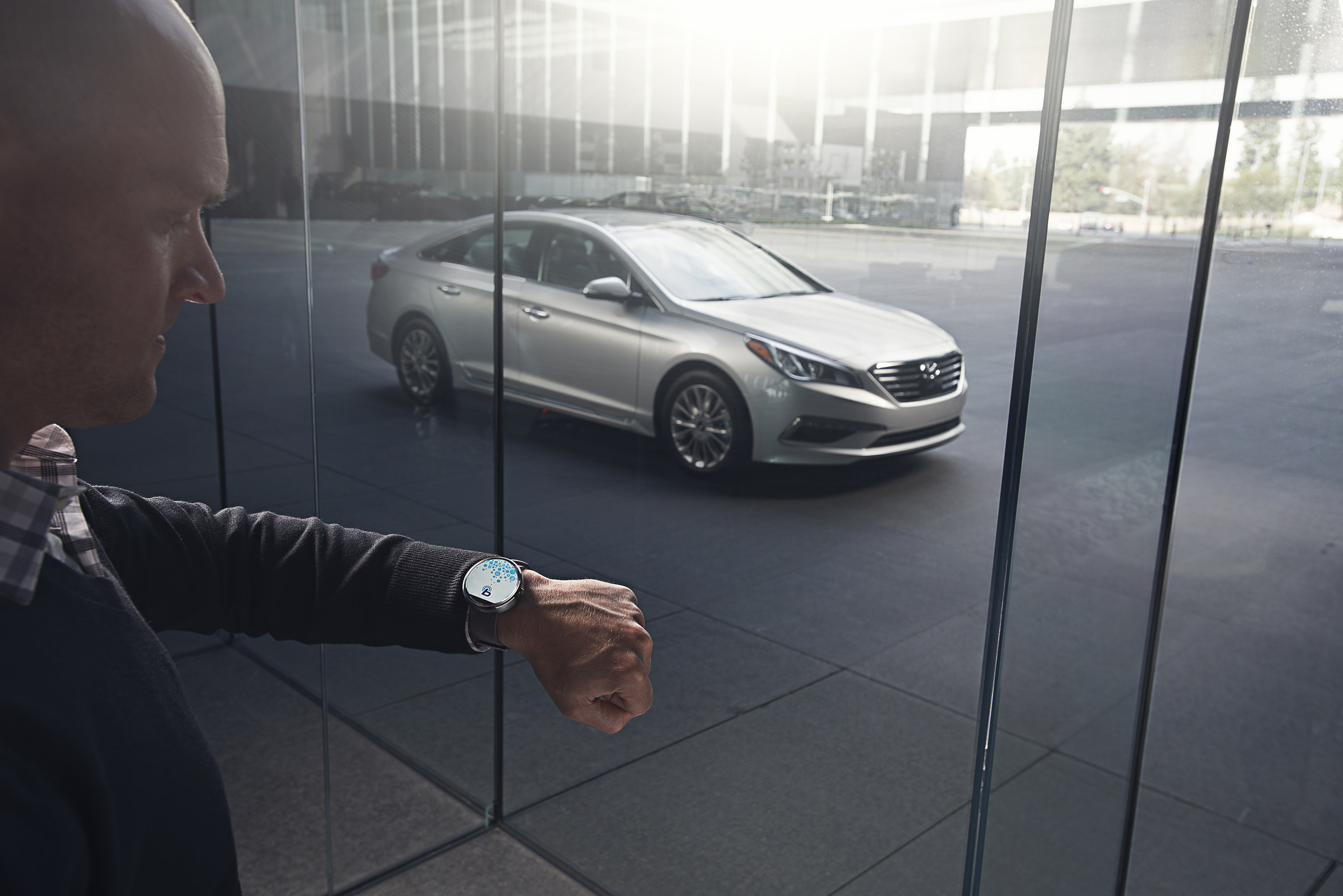 The Blue Link smartwatch app allows Hyundai owners to remote start, lock and unlock doors as well as find their  ...