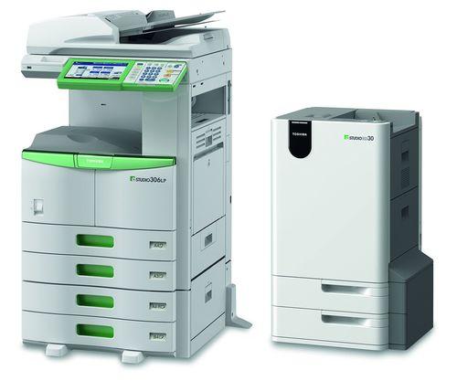 Toshiba TEC announces e-STUDIO306LP/ RD30 with ground-breaking erasable toner technology (PRNewsFoto/Toshiba TEC)