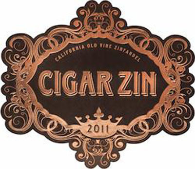 Cigar Zin logo.  (PRNewsFoto/Deutsch Family Wine & Spirits)