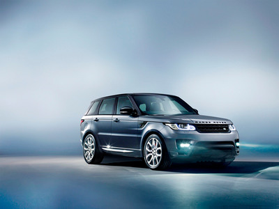 All-New Range Rover Sport Makes Its Global Debut At The 2013 New York International Auto Show.  (PRNewsFoto/Land Rover)