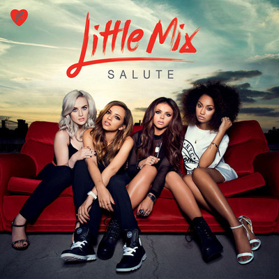 Little Mix To Release New Album SALUTE In The US On February 4th, 2014.  (PRNewsFoto/Columbia Records)