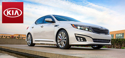 The 2014 Kia Optima has arrived at Palmen Kia in Kenosha.  (PRNewsFoto/Palmen Kia)