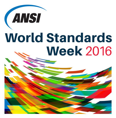 Get involved in World Standards Week 2016: October 24-28 in Washington DC. Visit www.ansi.org/wsweek for complete event and registration information.