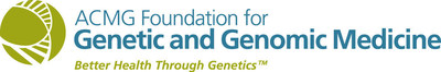 The ACMG Foundation for Genetic and Genomic Medicine is a national nonprofit foundation dedicated to facilitating the integration of genetics and genomics into medical practice.  www.acmgfoundation.org