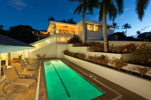 Modern Island Home, Ideally Located Within The Exclusive Mauna Kea Resort On Hawaii's Kohola Coast,