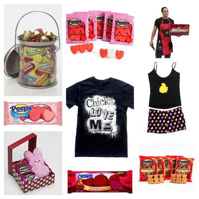 NEW Treats and Gifts Sweeten Valentine's Day At PEEPSANDCOMPANY.COM. (PRNewsFoto/PEEPS & COMPANY) (PRNewsFoto/PEEPS & COMPANY)