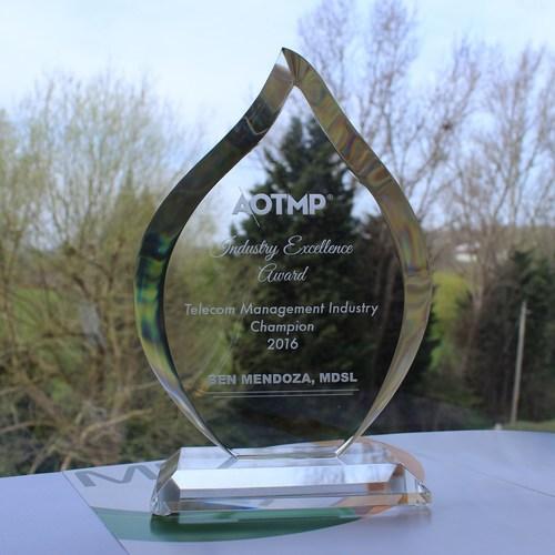 Image: AOTMP Industry Excellence Award (PRNewsFoto/MDSL)