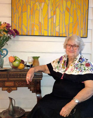 Jane Henson in Florida, 2012. Photo by Dave Pressler. (c) The Jim Henson Company.  All Rights Reserved.  Copyright (c) Disney.  All Rights Reserved.  (PRNewsFoto/The Jim Henson Company)