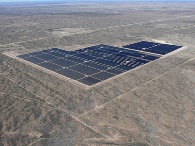 The Barilla Solar Project in West Texas is an example of the utility-scale solar installations helping to fuel the growing interest in solar power. Photo courtesy First Solar, Inc.