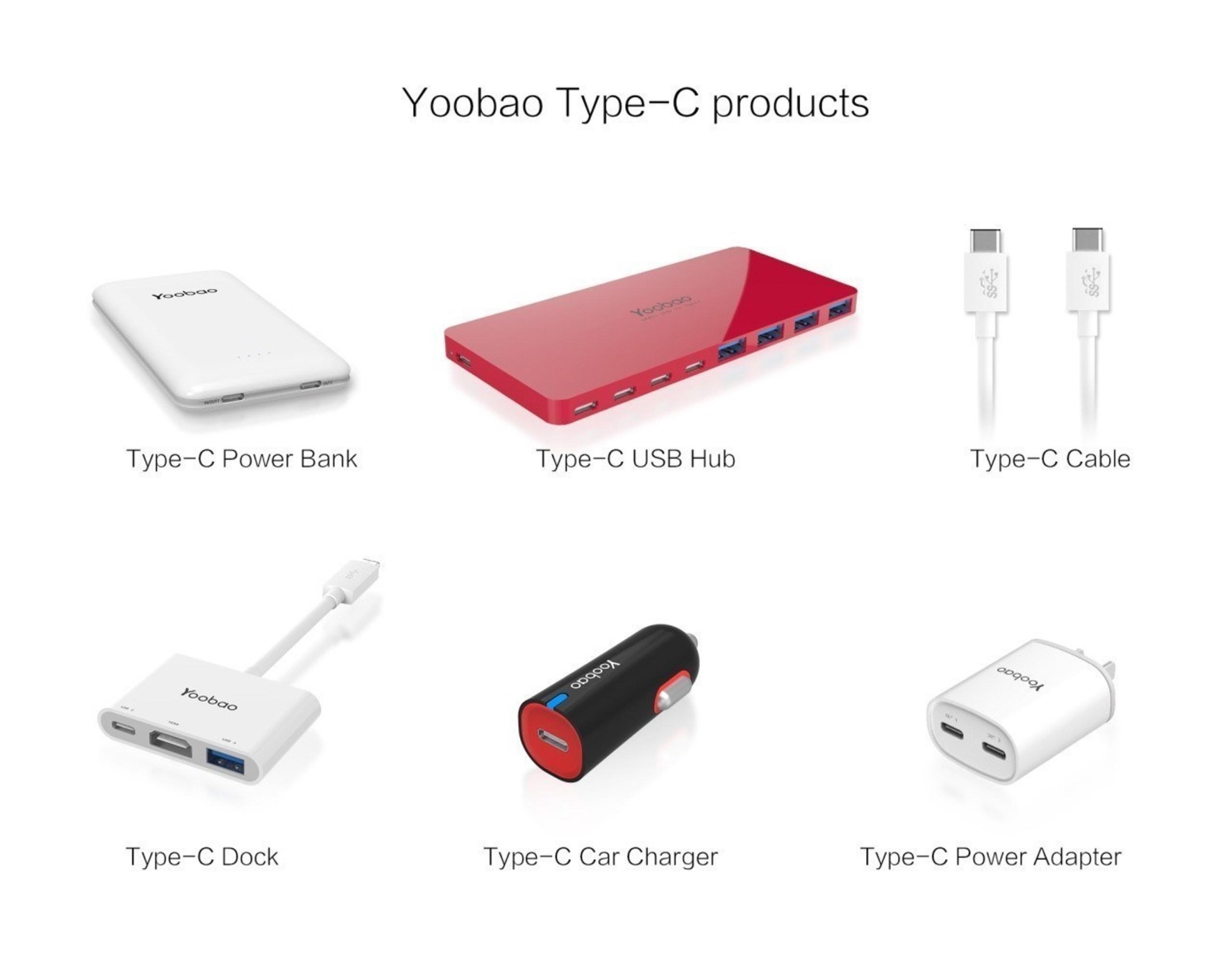 Yoobao Type-C series products