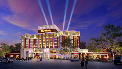 Hard Rock International Announces Collaboration with NYC Funding LLC for Resort Casino in Rensselaer, NY -- Application to be submitted to develop world class facility located on the Hudson River. (PRNewsFoto/Hard Rock International)