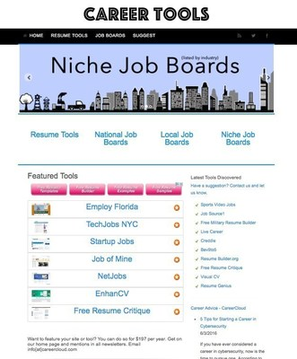 Career Tools Screenshot