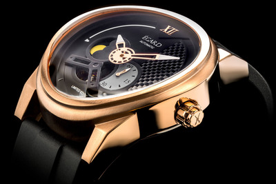 PASSAGES by EGARD, in Gold tone and rubber strap, MSRP $1195.