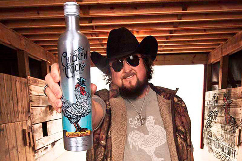 Chicken Cock Whiskey Partners With Groundbreaking Country Music Star Colt Ford. (PRNewsFoto/Chicken Cock Whiskey) (PRNewsFoto/CHICKEN COCK WHISKEY)
