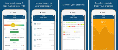 CreditCards.com's Score and Report app