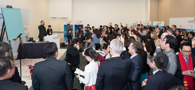 Guests engaged actively at the Asia Cruise Cooperation