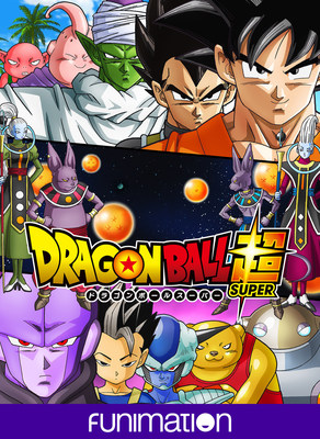 """Dragon Ball Super"" key art image. Courtesy of Funimation Entertainment."