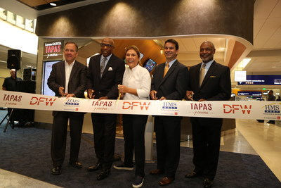 Lorena Garcia Tapas y Cocina Ribbon Cutting at Dallas Fort Worth International Airport