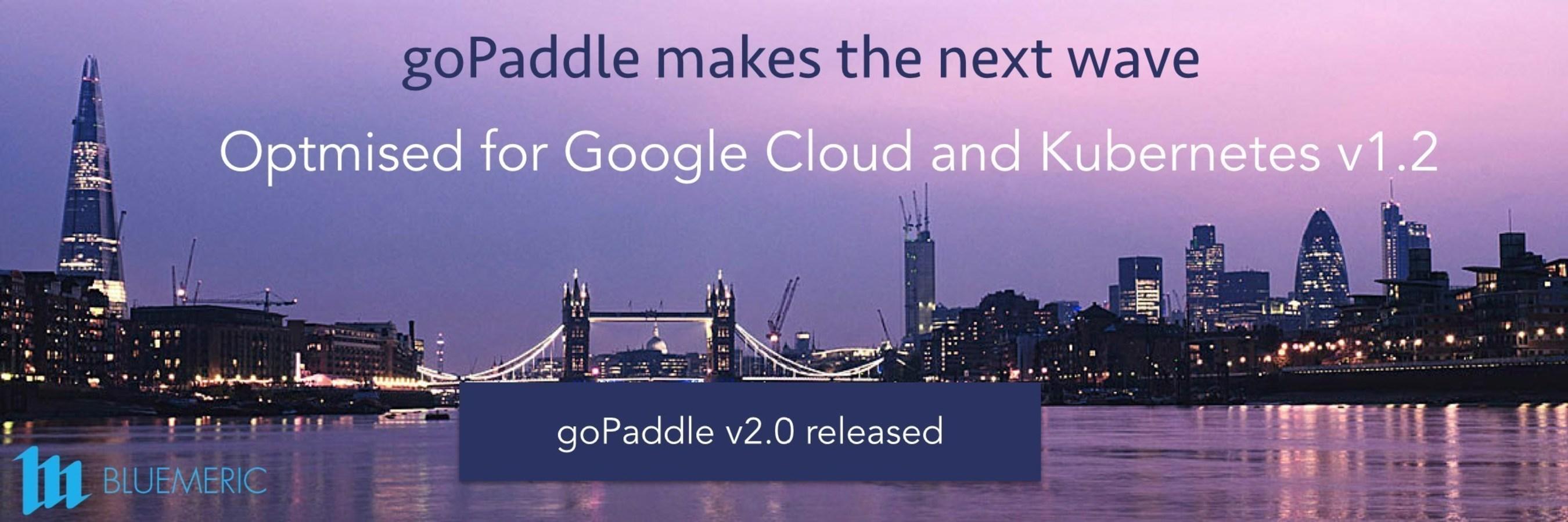 goPaddle optimised for Google Cloud and Kubernetes v1.2