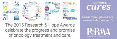 The 2015 Research & Hope Awards celebrate the progress and promise of oncology treatment and care.
