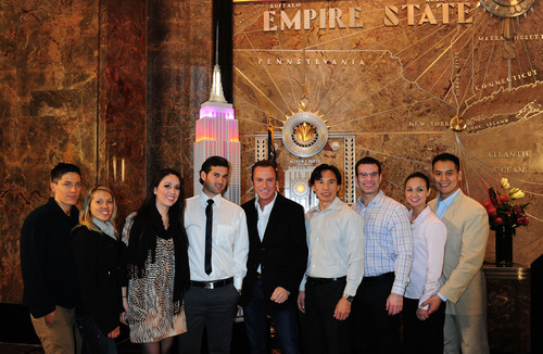 Empire State Building and ColinCowieWeddings.com Make a Perfect Match for Valentine's Day
