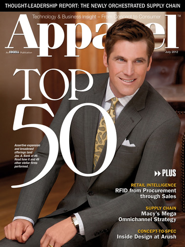 UniFirst Named to Top 50 by Apparel Magazine