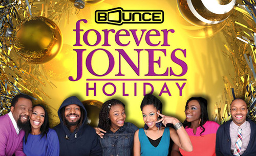 "Bounce TV Celebrates the Season with World Premiere Original Special ""A forever JONES Holiday"".  (PRNewsFoto/Bounce TV)"