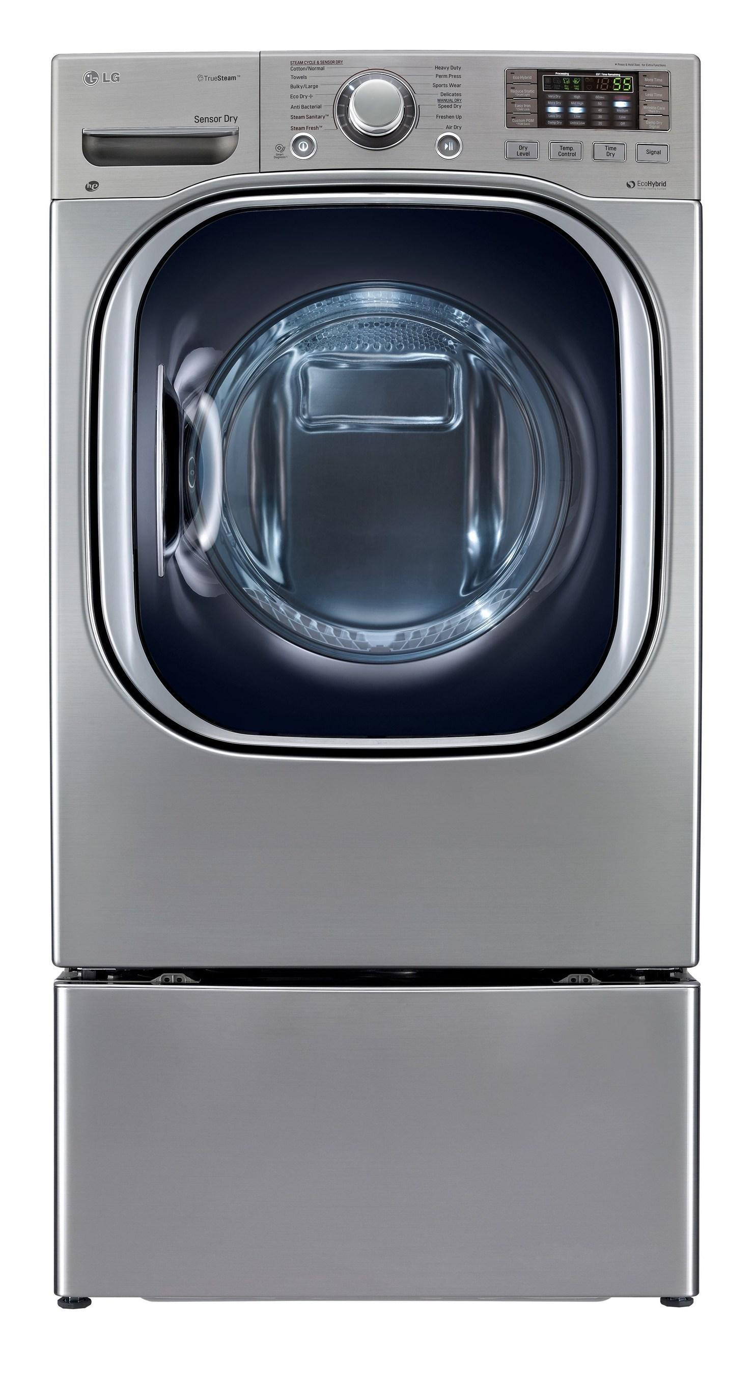 LG ECOHYBRID HEAT PUMP DRYER EARNS 2014 ENERGY STAR(R) EMERGING TECHNOLOGY AWARD. (PRNewsFoto/LG Electronics USA, Inc.)