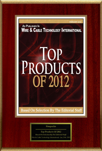 Simpacks Selected For 'Top Products Of 2012'