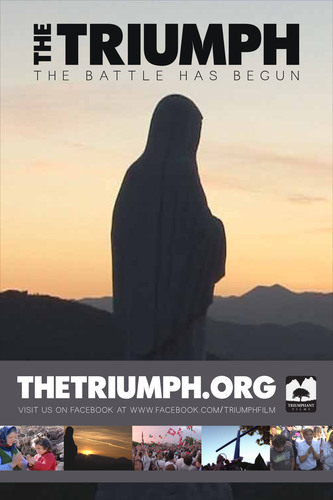 The Triumph - Official Movie Poster.  (PRNewsFoto/The Triumph)