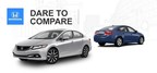 Compare popular compact sedans at Allan Nott today (PRNewsFoto/Allan Nott Honda)