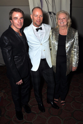 jcpenney's Ken Mangone, Geoffrey Henning and Liz Sweney at the Dallas DIFFA Benefit Gala.  (PRNewsFoto/jcpenney)