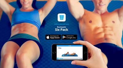 Runtastic Six Pack App. (PRNewsFoto/Runtastic) (PRNewsFoto/RUNTASTIC)