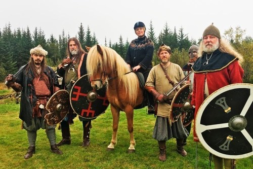 Inspired By Iceland launches new online video tutorial about Icelandic Sagas and horses as part of its Iceland Academy Winter timetable (PRNewsFoto/Inspired by Iceland)