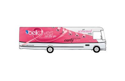 BelkGives On The Go Mobile Mammography Center.  (PRNewsFoto/Belk, Inc.)