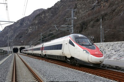 Switzerland Opens the Longest Train Tunnel in the World