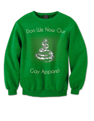 """Hallmark had issues with """"Gay"""" apparel but not Rocco Shirts. (PRNewsFoto/Rocco Shirts Chicago) (PRNewsFoto/ROCCO SHIRTS CHICAGO)"""
