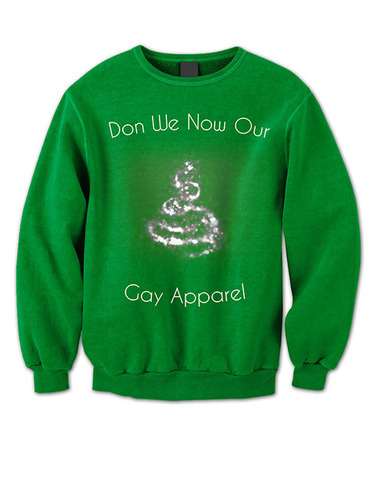 """Hallmark had issues with """"Gay"""" apparel but not Rocco Shirts. (PRNewsFoto/Rocco Shirts Chicago) ..."""