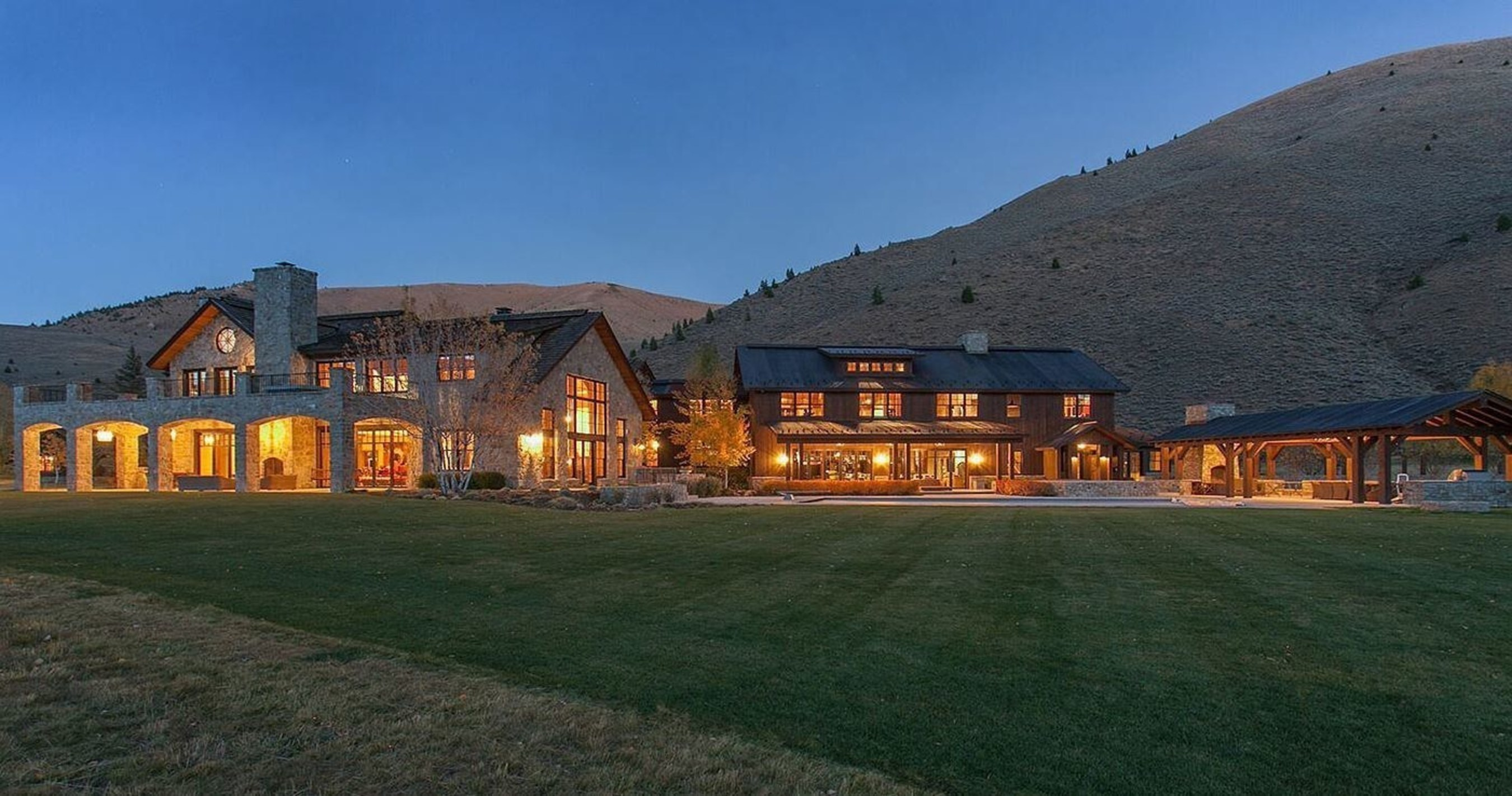 Auction Announced for Mountain Mansion in Prestigious Sun Valley, ID by DeCaro Luxury Auctions