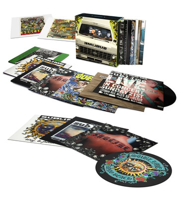 """Seven albums by the multi-platinum band Sublime, who created their own genre through ska, punk, reggae, hip-hop & rock -- '40 Oz. To Freedom,' 'Robbin' The Hood,' 'Sublime,' 'Second-Hand Smoke,' 'Acoustic: Bradley Nowell & Friends,' 'Stand By Your Van: Live,' and 'Jah Won't Pay The Bills' -- have been newly remastered for vinyl from the original master recordings, and in many cases original analog tapes. Supervised by Michael """"Miguel"""" Happoldt for audiophile-quality playback, the remastered albums will be released in limited-edition, 180-gram vinyl box sets, on June 24 by Geffen/UMe."""