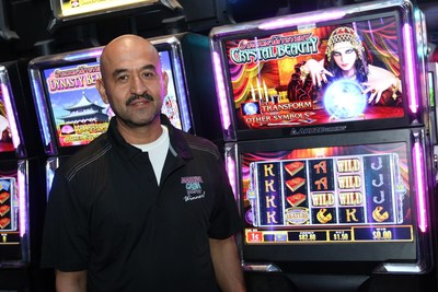 Table Mountain Casino's Massive Cash Jackpot Winner Javier, of Dinuba